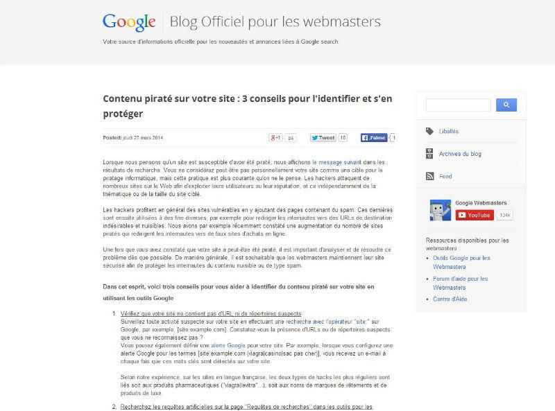 google-webmaster-francais